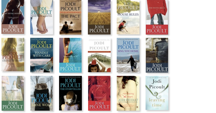 A Guide To Jodi Picoult Books The Book Thief Without Words